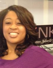 After picture for black hair at Pynk Butterfly Hair & Nail Salon in Columbia, SC.