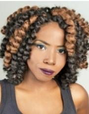Natural hair protective style braids twists