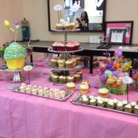 Celebration for clients at Flow Salon in Landover, MD.