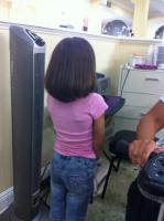 Black hair care for children at In the Master's Hands Salon & Spa in New Orleans, LA.