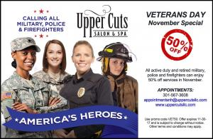 50% OFF - Military & First Responders Special