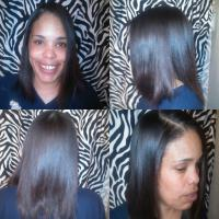 Straight styles for black hair at Something Special Styling Salon in Irving, TX.