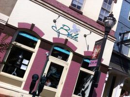 Salon facade at Babe Styling Studios for black hair care in Wilmington, DE.