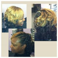 Style for black hair at LaShaviea Creations in Garner, NC.