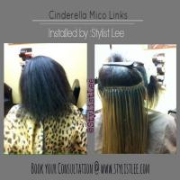 Seamless Micro link extensions - by Stylist Lee Hair Studio  Los Angeles