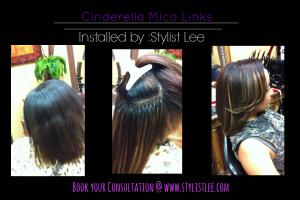 Flawless strand by strand extensions ( Micro links ) - Stylist Lee  Los Angeles